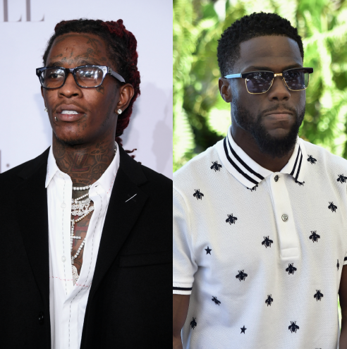 Young Thug Sends Kevin Hart A Message Of Solidarity On Twitter