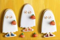 """<p>These adorable sugar cookies are easily customizable according to the trick-or-treaters in your house. Get the whole family involved to decorate!</p><p><a href=""""https://www.womansday.com/food-recipes/food-drinks/a23301516/trick-or-treater-sugar-cookies/"""" rel=""""nofollow noopener"""" target=""""_blank"""" data-ylk=""""slk:Get the recipe from Woman's Day »"""" class=""""link rapid-noclick-resp""""><em>Get the recipe from Woman's Day »</em></a></p>"""