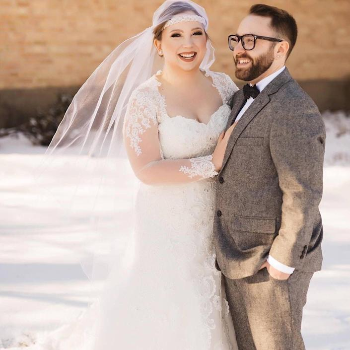 The author and her partner. (Photo: Photo Credit: Kara Reese Photography)