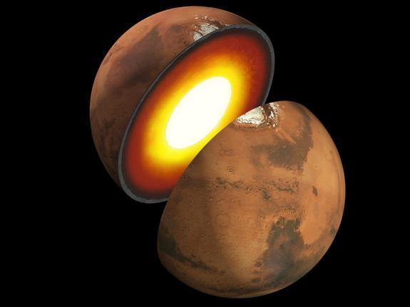 How Mars and Jupiter Formed from Space Rock Crashes