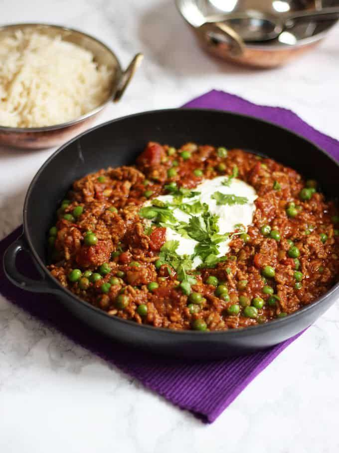 """<p>This is the type of meal you could batch cook and freeze ready for those busy weeknight dinners! Not to mention, it's super easy to make and absolutely delicious. Pair it with some fluffy rice and you're good to go. </p><p>Get the <a href=""""https://www.tamingtwins.com/keema-recipe/"""" rel=""""nofollow noopener"""" target=""""_blank"""" data-ylk=""""slk:Lamb Mince Keema Curry"""" class=""""link rapid-noclick-resp"""">Lamb Mince Keema Curry</a> recipe. </p><p>Recipe from <a href=""""https://www.tamingtwins.com/"""" rel=""""nofollow noopener"""" target=""""_blank"""" data-ylk=""""slk:Taming Twins"""" class=""""link rapid-noclick-resp"""">Taming Twins</a>. </p>"""