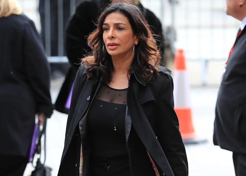 Shobna Gulati is heartbroken by the death of her mum (Credit: PA)
