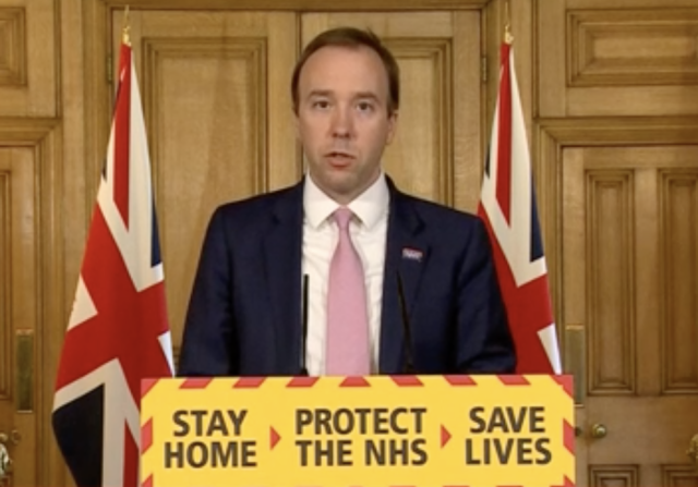 Families of NHS and social care staff who die from coronavirus in the course of 'essential frontline work' will receive a £60,000 payment, health secretary Matt Hancock announced on Monday. (BBC)