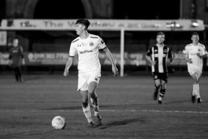 <p>Luke Bennett was a 'kind' and 'popular' player for the non-league club</p> (AFC Fylde)