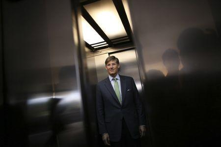 FILE PHOTO - Michael L. Corbat, president of the Citigroup, arrives at the Planalto Palace before a meeting with Brazil's President Dilma Rousseff in Brasilia April 9, 2013. REUTERS/Ueslei Marcelino