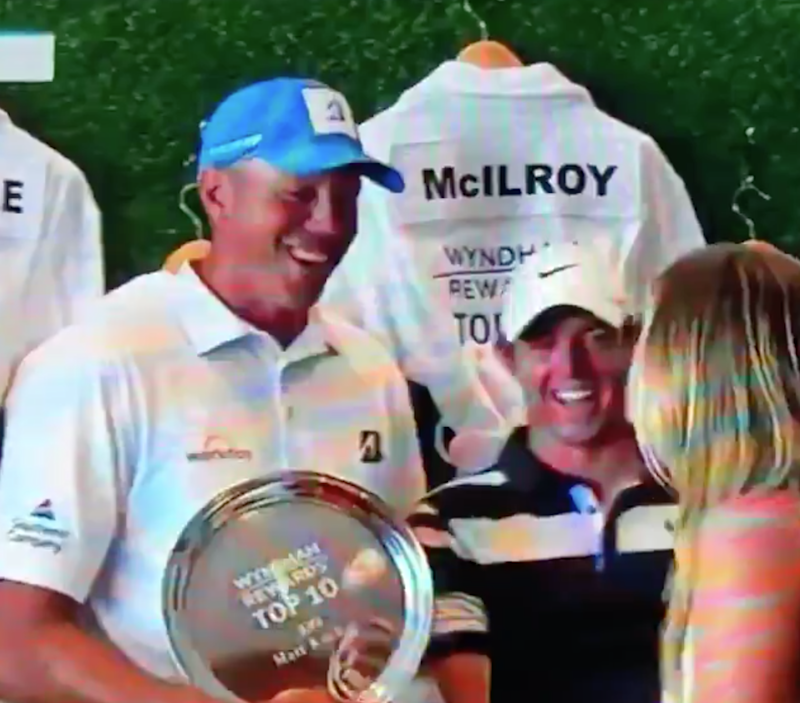 Matt Kuchar caddie controversy resurfaces with vicious Rory McIlroy joke