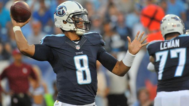 Marcus Mariota is not going to be upright very much against the talented Jags pass rush.