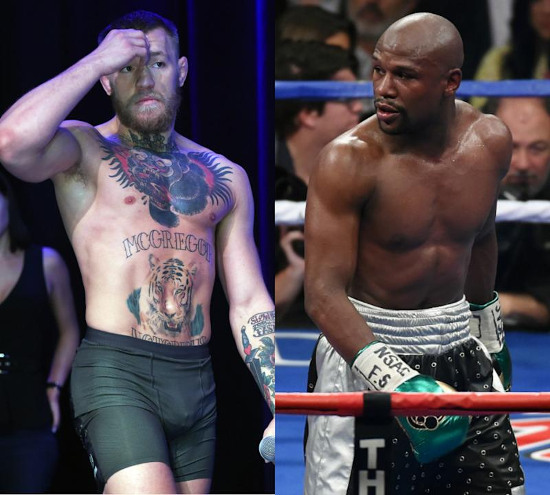 McGregor and Mayweather could yet meet in a $1billion superfight: Getty Images