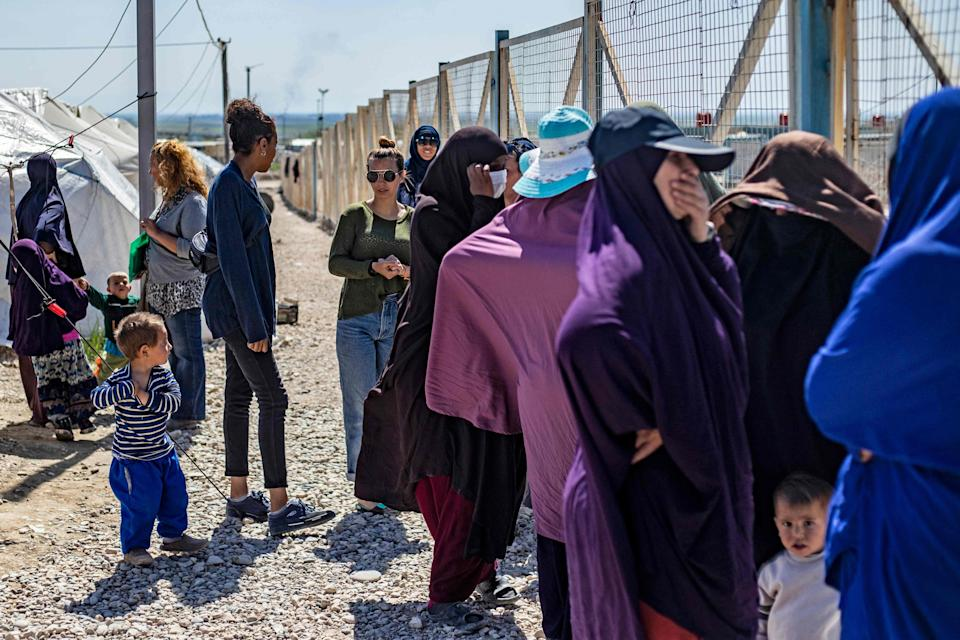 The so-called Islamic State groomed and recruited hundreds of women and girlsAFP via Getty Images