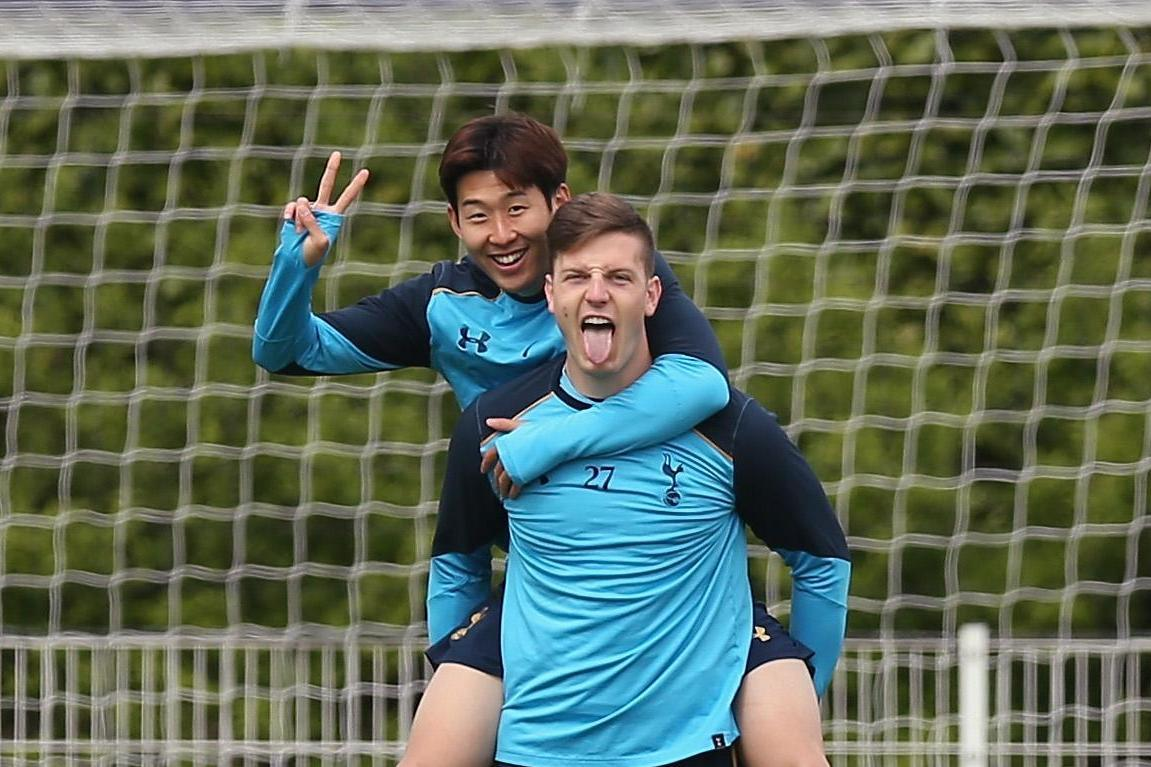 Heung-min Son still texts 'best friend' Kevin Wimmer after defender left Tottenham for Stoke City