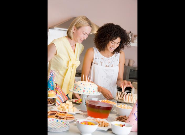 """Etiquette rules used to dictate that a bride's immediate family, particularly her mother, couldn't throw her bridal shower. """"It was taboo because it was thought as being self-serving or raking in the gifts, but that's changed immensely,"""" Post says. In fact, as more couples plan their own weddings, brides' mothers tend to feel left out as far as orchestrating the festivities goes, Naylor explains. Because of this, she says it is more than acceptable for a mother to """"join in with the bridesmaids to <em>co-host </em>the shower, which skirts the etiquette 'don't.'"""" She adds that having mom's help can also ease the strain on bridesmaids who might be overwhelmed by the money they're spending on dresses, travel and other pre-wedding costs."""