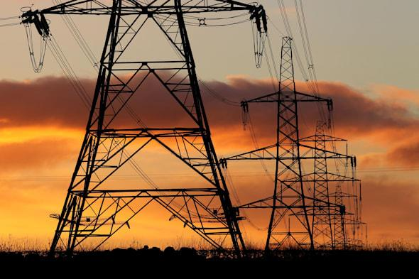 File photo dated 24/11/10 of electricity pylons. George Osborne will make a pitch to ordinary working people today when he delivers his penultimate Budget before the general election.  PRESS ASSOCIATION Photo. Issue date: Wednesday March 19, 2014. See PA BUDGET stories. Photo credit should read: Andrew Milligan/PA Wire