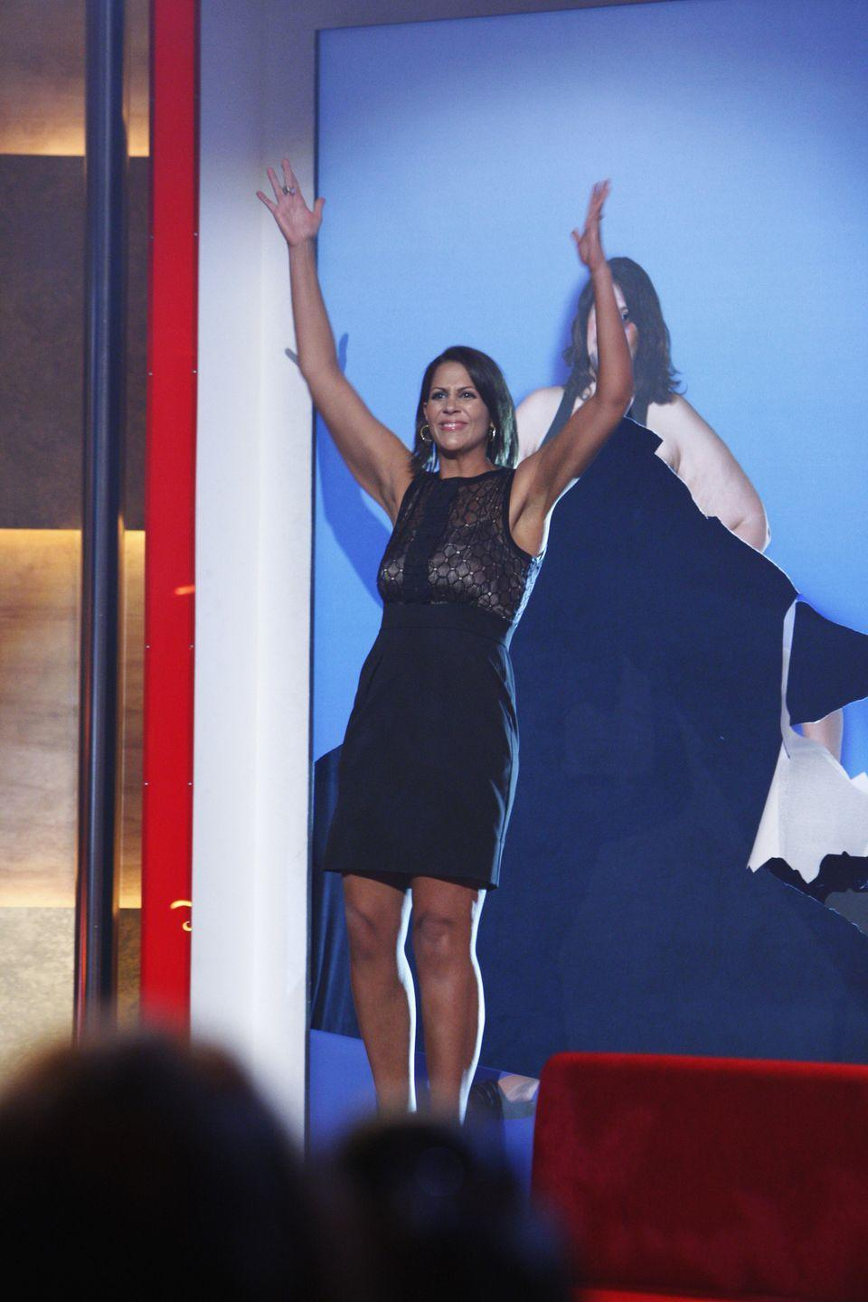 <p>Heba ended up losing a whopping 156 pounds. She didn't win the overall title, but she was named the Biggest Loser of the eliminated contestants and won $100,000.</p>