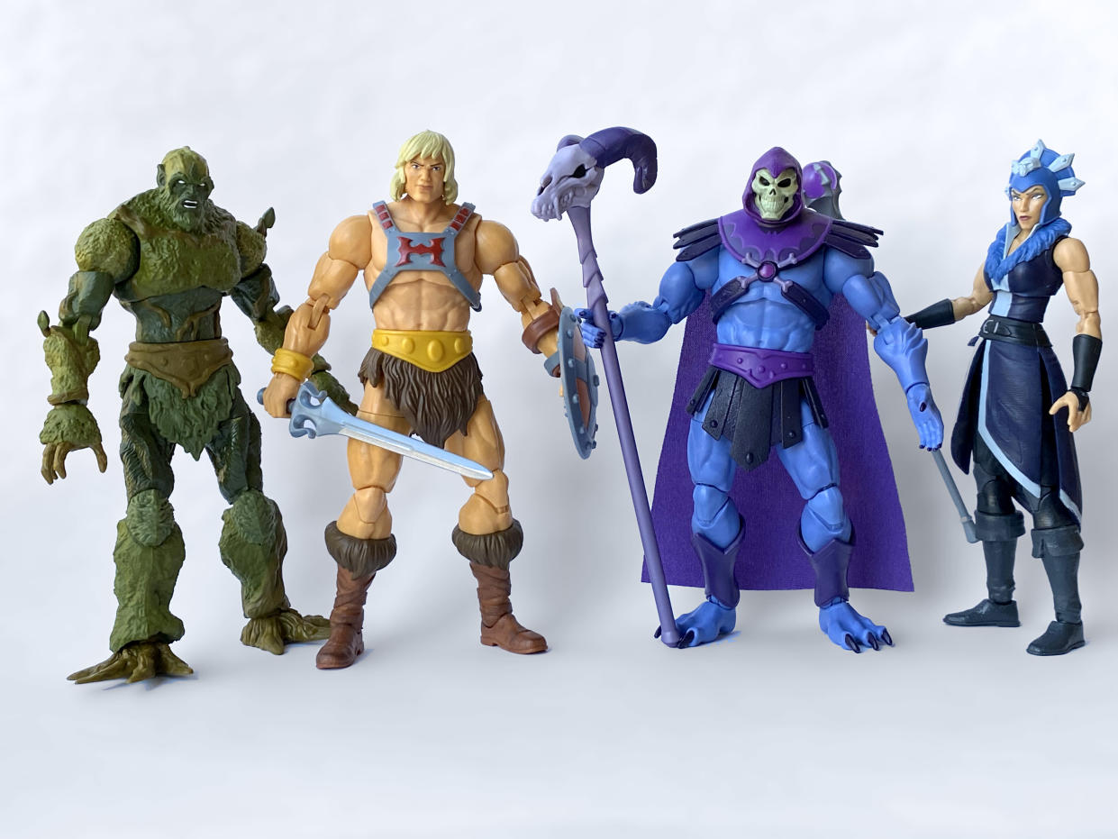 He-Man and Skeletor are back with Mattel's new line of