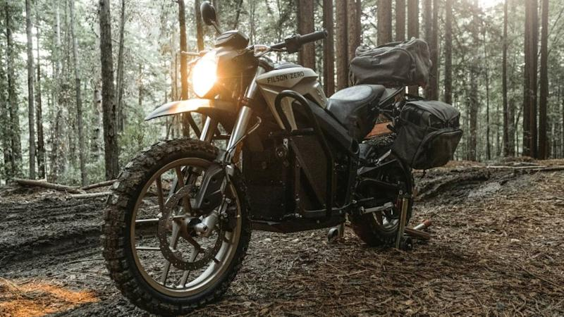 Filson x Zero Electric Motorcycle