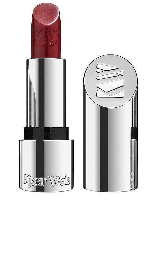 """<h2>Kjaer Weis Lipstick</h2><br>When seeking ways to make her beauty routine more sustainable, Jhánneu says she looks for makeup brands that sell individual shade refills to eliminate unnecessary packaging. """"I love this brand because nearly everything they sell is plastic-free,"""" she explains. """"It makes it easy to recycle packaging, or you can keep it and purchase new colors you want to try."""" Jhánneu also swears by the Kjaer Weis <a href=""""https://kjaerweis.com/products/cream-foundation-iconic-edition-lightness"""" rel=""""nofollow noopener"""" target=""""_blank"""" data-ylk=""""slk:cream foundation"""" class=""""link rapid-noclick-resp"""">cream foundation</a>, a clean formula that offers refillable pods. <br><br><strong>Kjaer Weis</strong> Lipstick, $, available at <a href=""""https://go.skimresources.com/?id=30283X879131&url=https%3A%2F%2Fkjaerweis.com%2Fproducts%2Flipstick-iconic-edition-sucre"""" rel=""""nofollow noopener"""" target=""""_blank"""" data-ylk=""""slk:Kjaer Weis"""" class=""""link rapid-noclick-resp"""">Kjaer Weis</a>"""