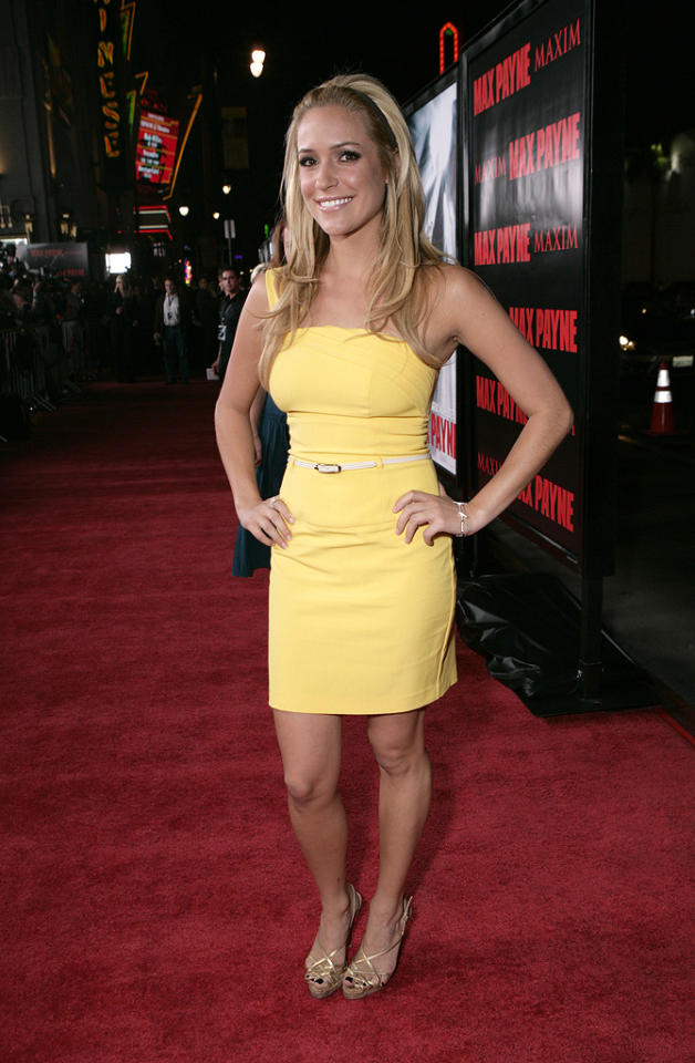 "<a href=""http://movies.yahoo.com/movie/contributor/1809681105"">Kristin Cavallari</a> at the Los Angeles premiere of <a href=""http://movies.yahoo.com/movie/1810007086/info"">Max Payne</a> - 10/13/2008"