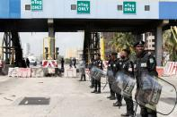 Protest against the reopening of the Lekki Toll Gate in Lagos