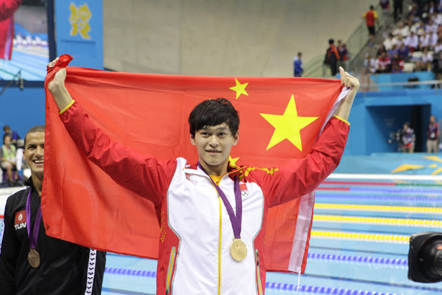 Compatriot Sun Yang, winner of two swimming golds, is similarly attractive to Chinese sponsors 