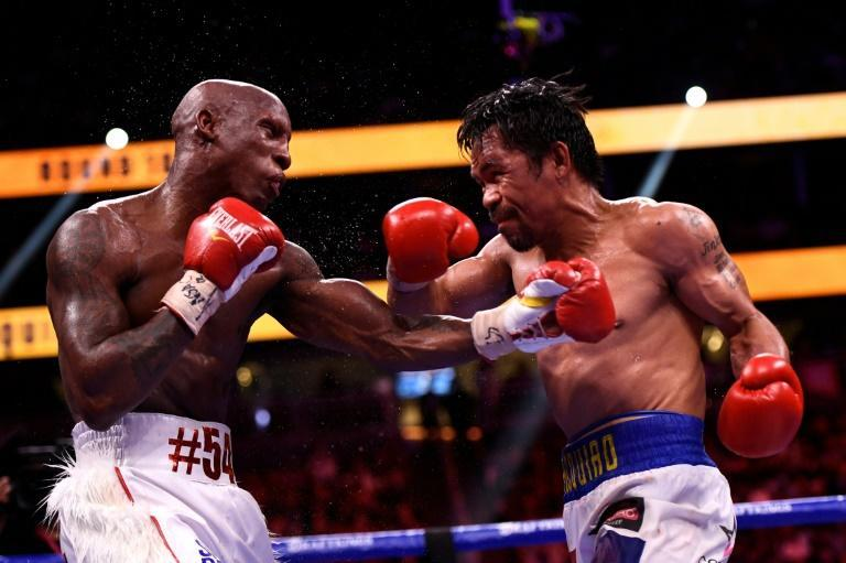 A deflated Pacquiao said afterwards he will take his time before deciding on his future