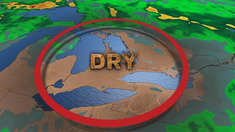 Dry spell continues in Ontario, scorching heat expected to intensify