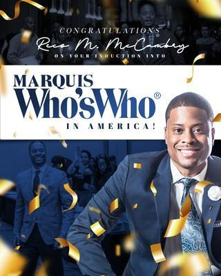 Congratulations Reco McDaniel McCambry on your induction into Marquis Who's Who in America!