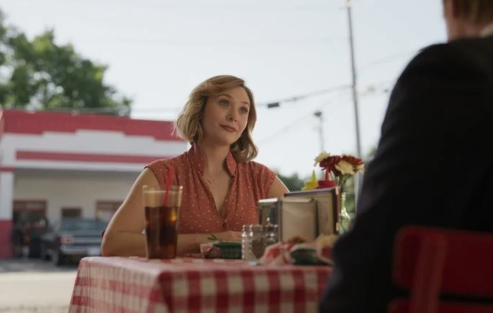 <p><strong>Release date: TBC </strong></p><p>Elizabeth Olsen stars as Candy Montgomery in HBO Max's Love & Death, a limited series based on the true story of Texas housewife Candy Montgomery's murder of Betty Gore in 1980. </p><p>Written by Big Little Lies and The Undoing's David E Kelley, the drama is inspired by the book Evidence of Love: A True Story of Passion and Death in the Suburbs and a collection of articles from Texas Monthly. The cast also includes Jesse Plemons, The Underground Railroad's Lily Rabe, Patrick Fugit, Keir Gilchrist, Elizabeth Marvel, Tom Pelphrey and Krysten Ritter.<br></p>