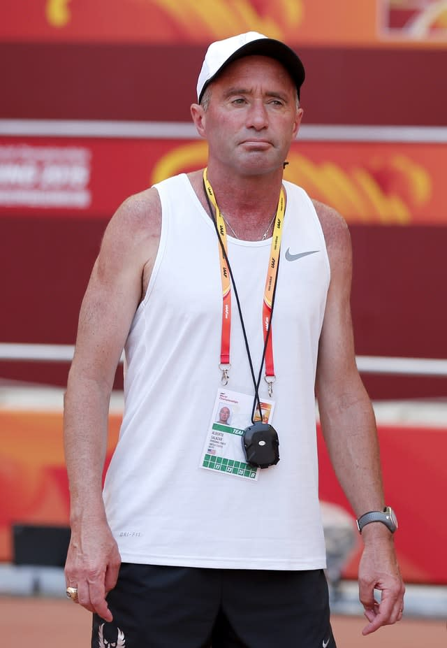 Alberto Salazar was banned over doping violations (PA Wire)