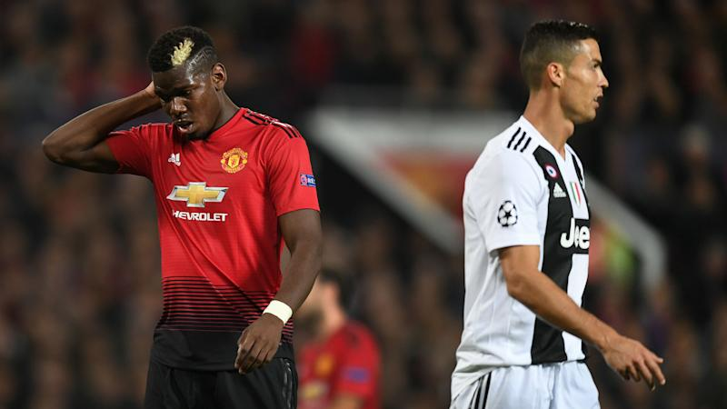 Ronaldo scores as easily as he drinks water - Pogba