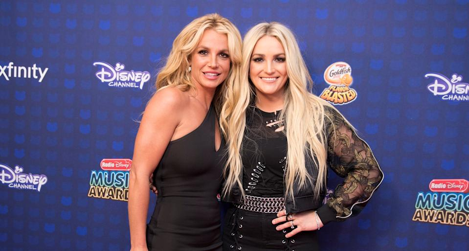 Britney Spears' younger sister Jamie Lynn Spears has been named a trustee of the singer's fortune. (Getty Images)