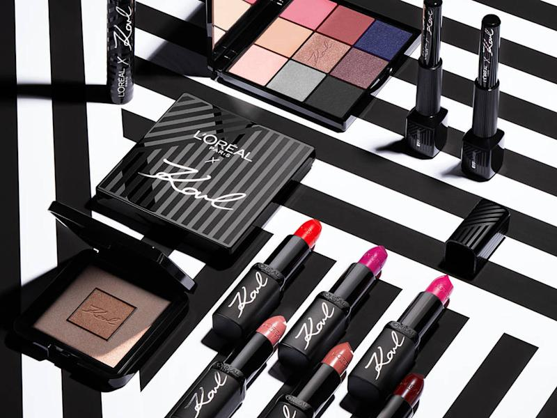 L'Oreal Paris unveils Karl Lagerfeld make-up collection