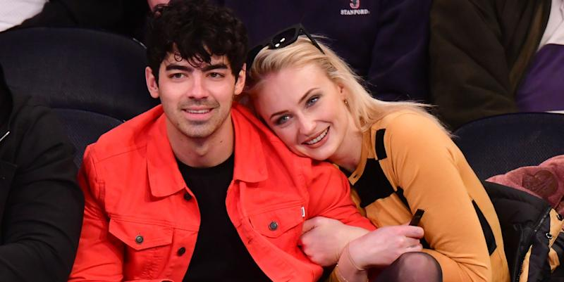 Pregnant Sophie Turner Trolls Joe Jonas for Wearing Jeans at Home