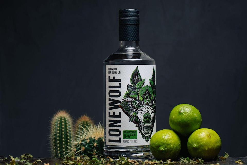 """<p>This gin is loaded with lime and topped up with the juice of pressed cactus. The cactus flavour delivers waves of watermelon and lychee which pair perfectly next to the zesty lime notes. Sounds kinda delicious, right? </p><p><strong>£26.00, Brewdog</strong><br></p><p><a class=""""link rapid-noclick-resp"""" href=""""https://go.redirectingat.com?id=127X1599956&url=https%3A%2F%2Fwww.brewdog.com%2Fuk%2Flonewolf-cactus-and-lime-gin&sref=https%3A%2F%2Fwww.delish.com%2Fuk%2Fcocktails-drinks%2Fg29069585%2Fflavoured-gin%2F"""" rel=""""nofollow noopener"""" target=""""_blank"""" data-ylk=""""slk:BUY NOW"""">BUY NOW</a></p>"""