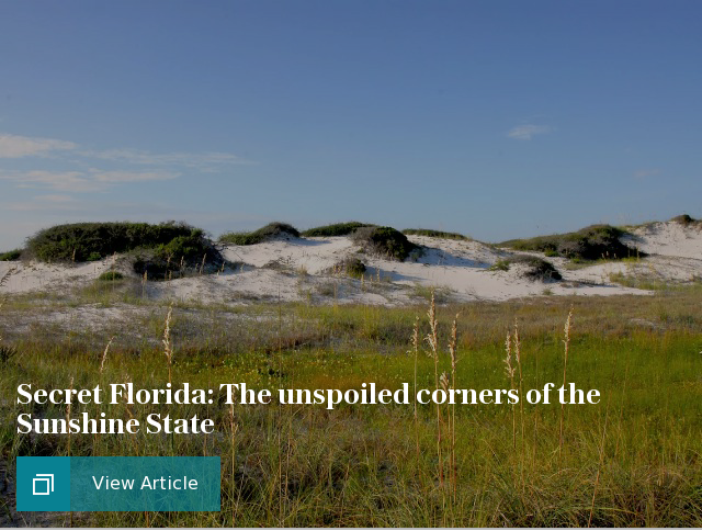 Secret Florida: The unspoiled corners of the Sunshine State