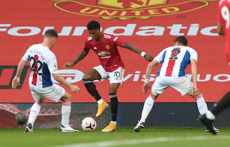 Rashford has earned the admiration of the nationGetty