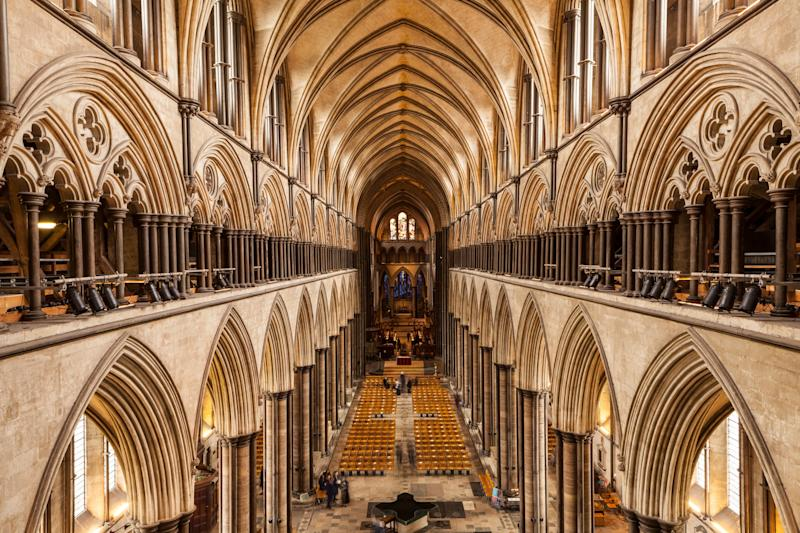 Expect few crowds in the cathedral - getty
