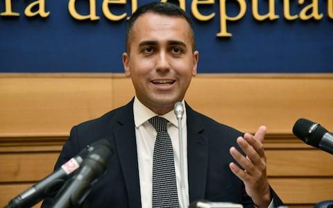 The court's ruling was criticised by Italian magistrates and politicians, including Luigi di Maio, foreign minister and head of the Five Star Movement - Credit: Filippo Monteforte/AFP