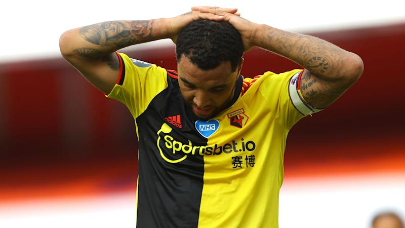 Deeney prepared to 'take the stick' as Watford suffer relegation