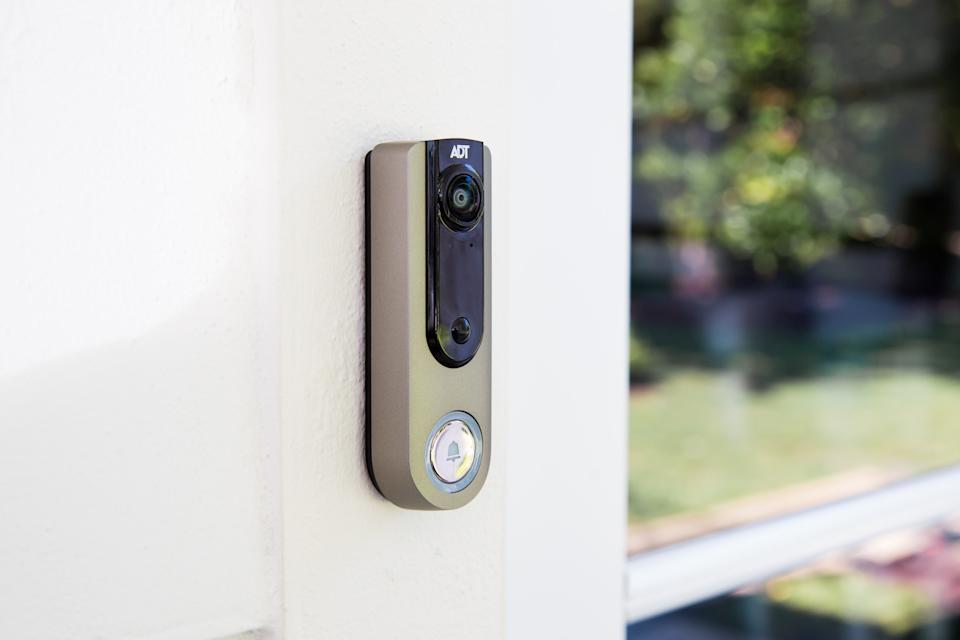 The ADT Video Doorbell will work with Google Home.