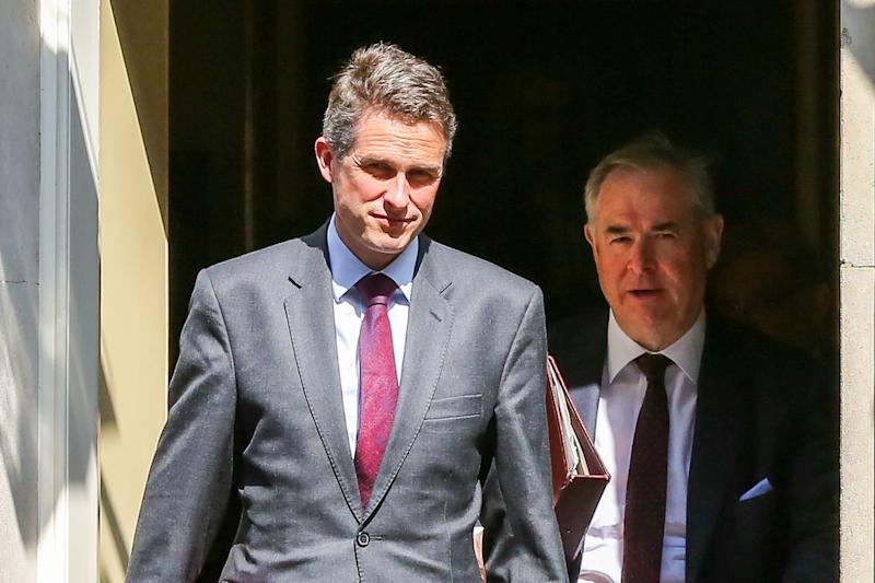 Gavin Williamson Secretary of State for Defence has been sacked over Huawei leak by the British Prime Minister Theresa May, following an inquiry into the leak of information from the National Security Council. (Photo by Dinendra Haria / SOPA Images/Sipa USA)