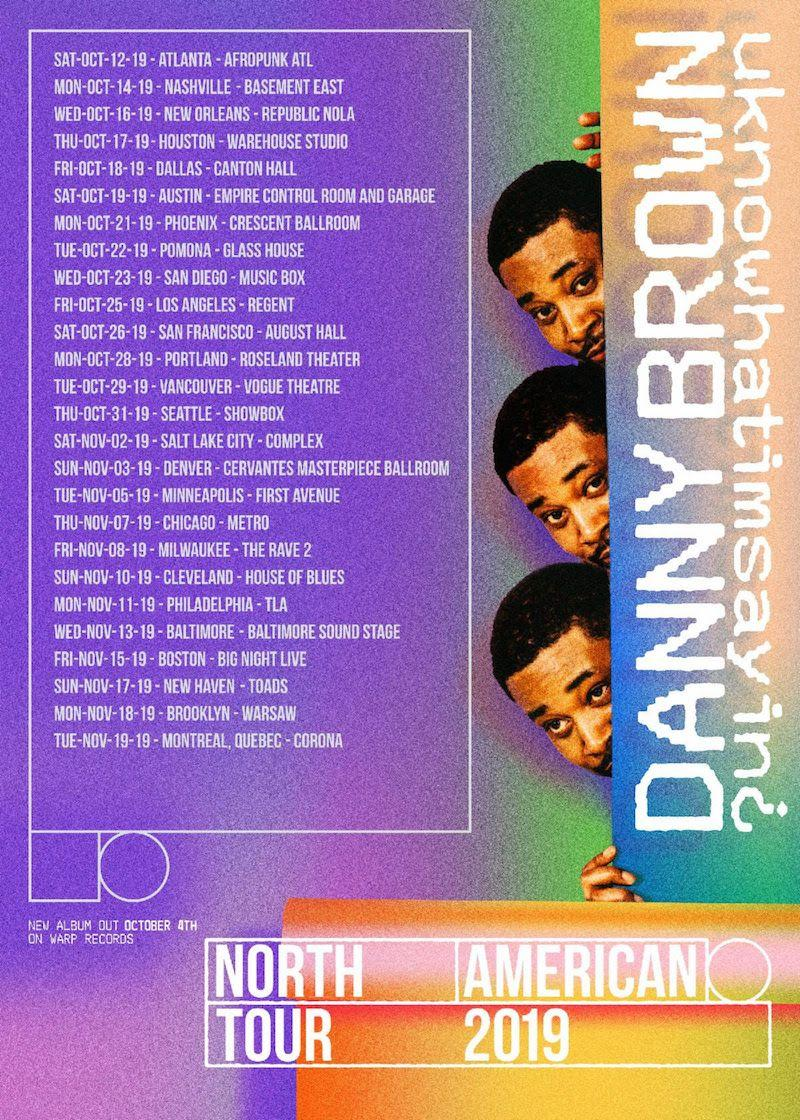 danny brown tour dates concert tickets Danny Brown announces new album uknowhatimsayin¿, airs out Dirty Laundry: Stream