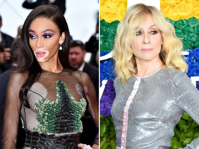 <p>Judith Light and Winnie Harlow.&nbsp;Getty Images</p>