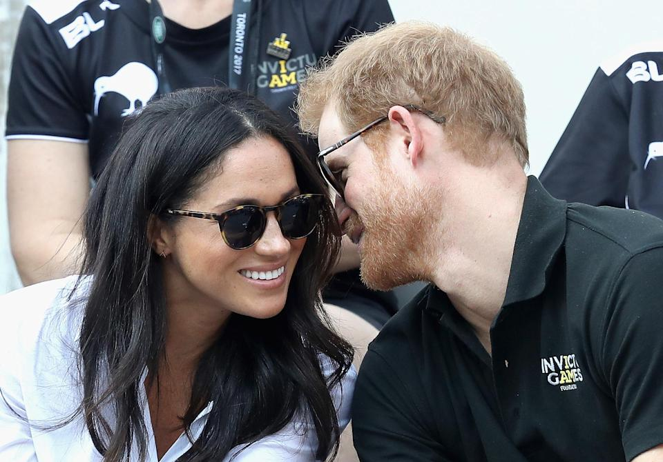 Meghan and Harry were first photographed together in September 2017 at the Invictus Games in Canada. [Photo: Getty]