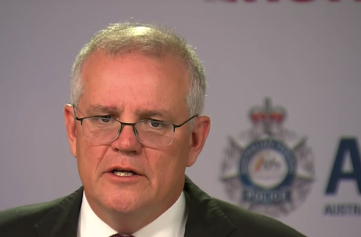 Prime Minister Scott Morrison hailed the three-year operation and vowed more was to come. Source: ABC