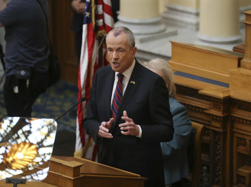 New Jersey governor wants higher taxes, money for schools