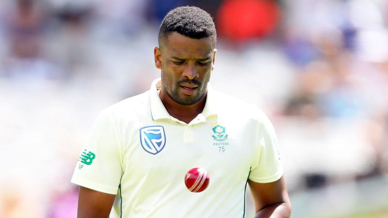 Pictured here, former South Africa cricketer Vernon Philander is mourning the death of his younger brother.