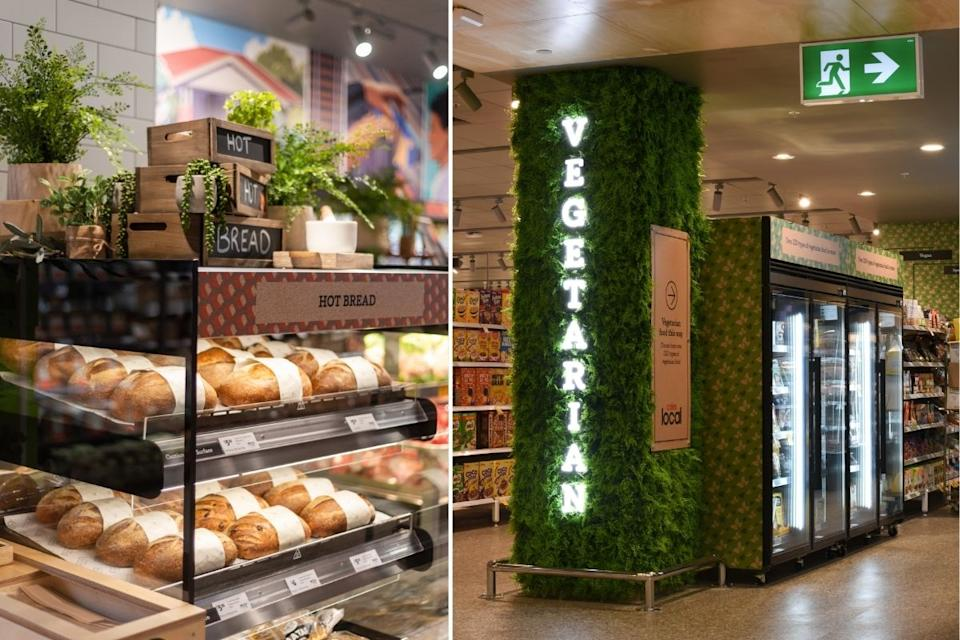 Coles Camberwell Local boasts an extensive plant-based range. Source: Coles Group