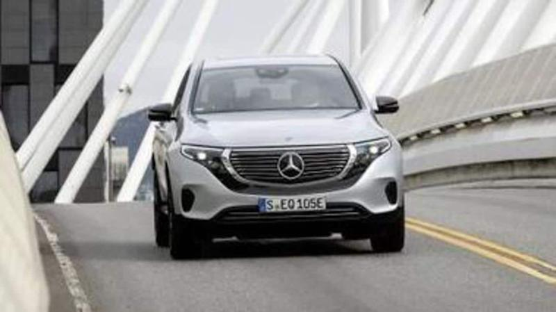 Mercedes-Benz electric SUV to be launched on October 8
