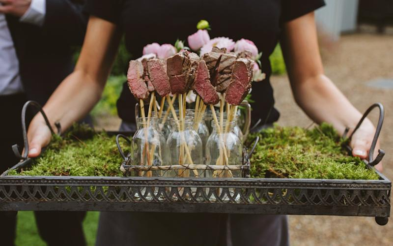 Get creative with your wedding food - Clare Tam-Im Photography/Kalm Kitchen