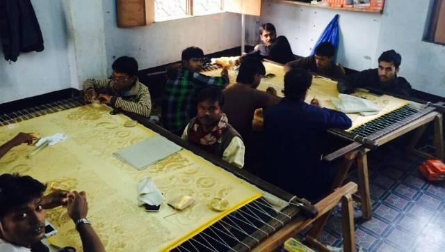 The artisans who work with Mishra